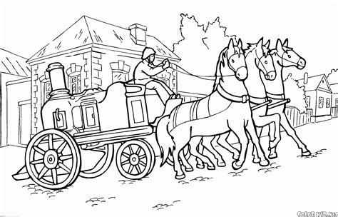 coloring page fire truck scania