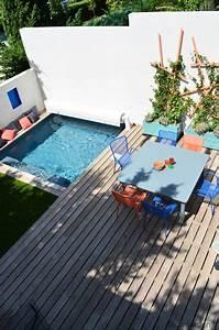 Mini Pool Terrasse : petite terrasse avec piscine slowgarden c t maison ~ Orissabook.com Haus und Dekorationen