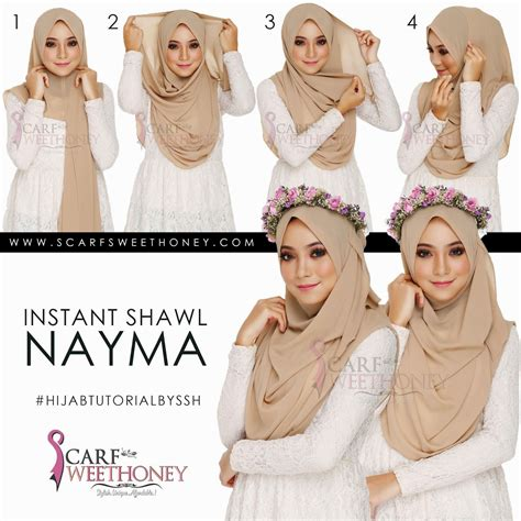 scarf sweethoney hijab tutorial  love hijab tutorial