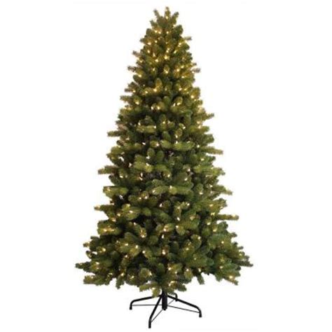 ge 7 5 ft just cut colorado spruce ez light artificial