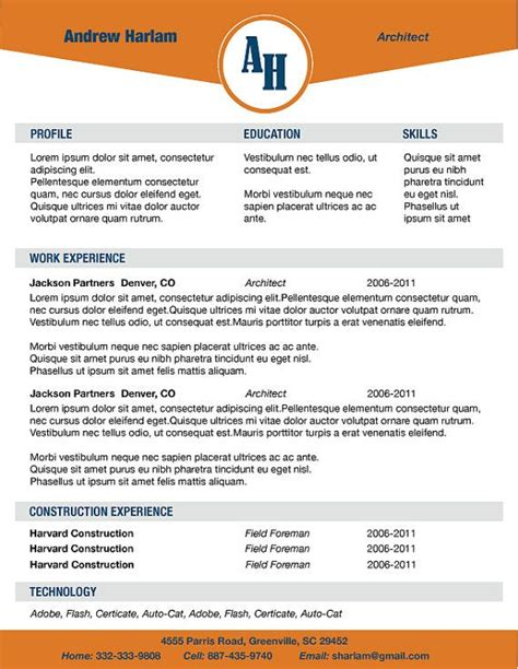 Font Style For Resume by Maybe Something Like This Different Colors And Font For