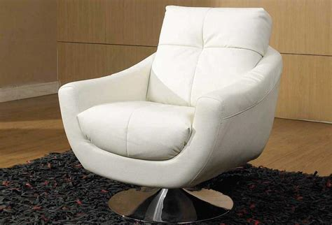 modern swivel rocker recliner leather white swivel chair