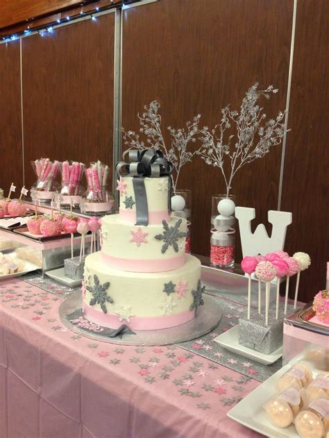 Winter Themed Baby Shower - 17 best ideas about winter cake on