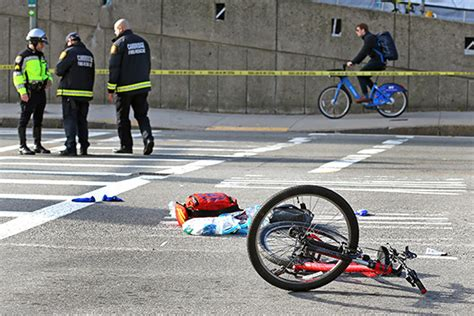 Bicycle Crash Claims The Life Of Bu Grad Student