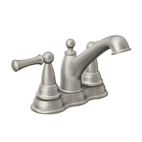 moen 84600srn sage watersense bathroom sink faucet lowe