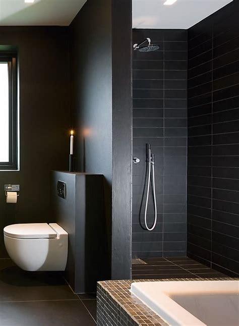 and black bathroom ideas 34 black bathroom tile ideas and pictures