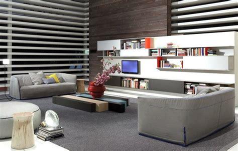 canapé en cuir contemporain roche bobois canapé gris 50 designs en nuances grises pour votre salon