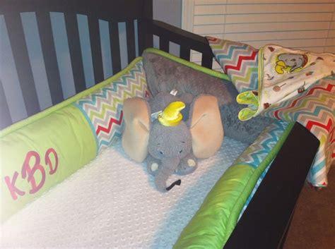 Dumbo Crib Bedding by Dumbo Stuffed Animal From Walk Disney World Theme Park We