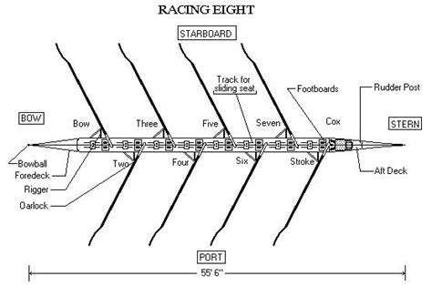Sculling Boat Positions by Rowing Around The World
