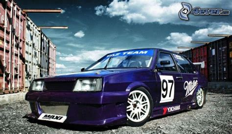 Lada A Neon by Tuning