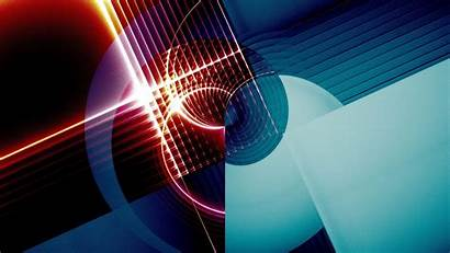 Abstract Circle Pattern Laser Wallpapers 4k Resolution