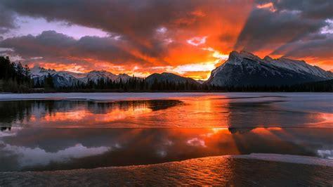 2560x1440 Canada Alberta Banff National Park 1440p