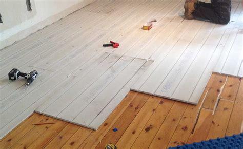 underfloor heating  homebuilding
