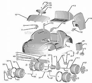 Power Wheels L1114 Parts List And Diagram