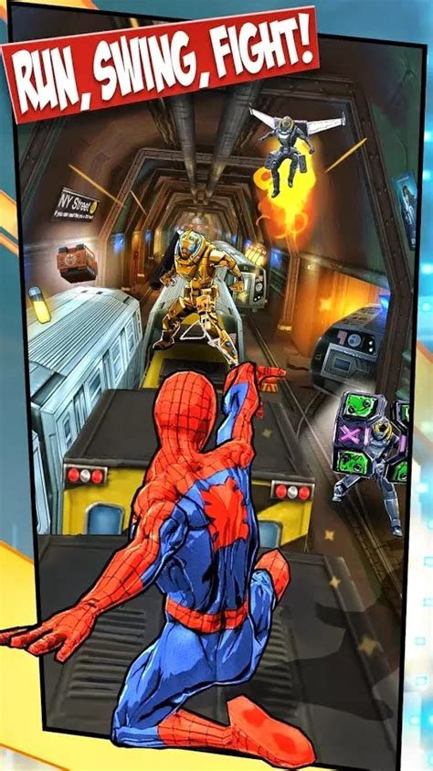 spider man unlimited vg mod apk android mesh