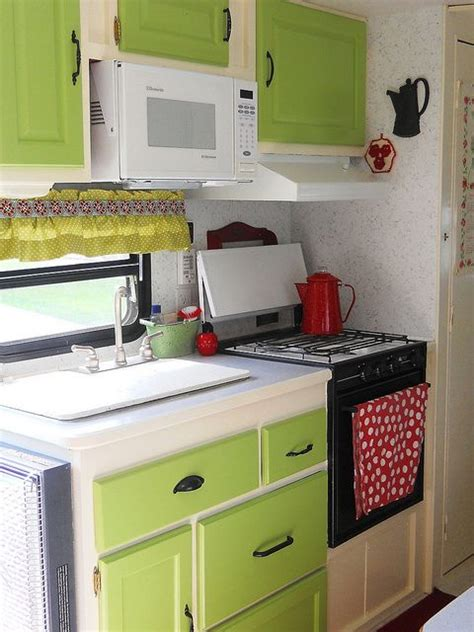 kit kitchen cabinets 2106 best rv caravan travel trailer decorating images on 2106