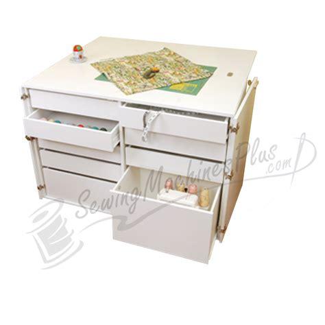 kangaroo dingo nine drawer sewing cabinet ash white k7911