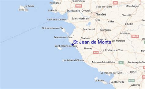 meteo de jean de monts st jean de monts surf forecast and surf reports vendee