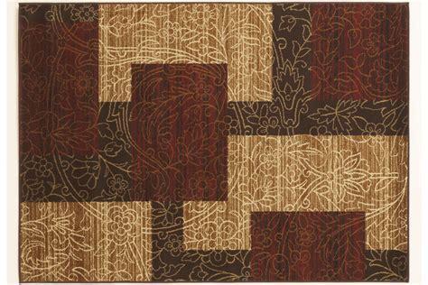 Rosemont Medium Rug in Red/Brown/Gold by Ashley at Gardner