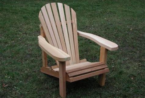 complete plan pour fabriquer une chaise adirondack