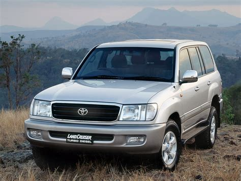 2002 Toyota Land Cruiser by 2002 Toyota Land Cruiser 100 Pictures Information And