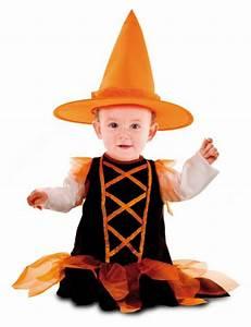 Deguisement Halloween Bebe : d guisement b b sorci re orange halloween taille 7 12 ~ Melissatoandfro.com Idées de Décoration
