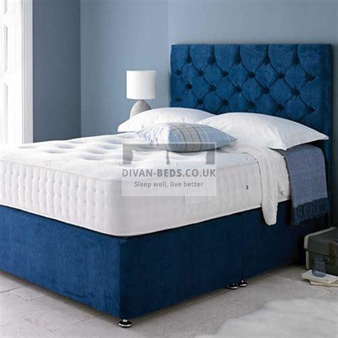 Soft Beds by Hermes Soft Velour Divan Bed With 1500 Pocket