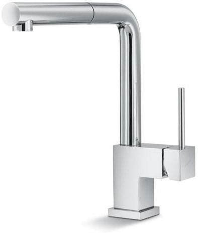 square kitchen faucet sleek square kitchen faucets abode