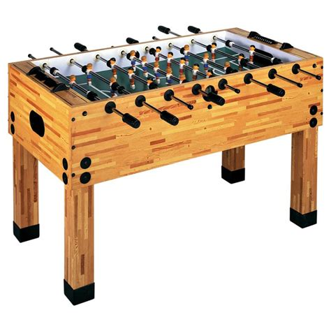Garlando Butcher Block Foosball Table Gametablesonlinecom