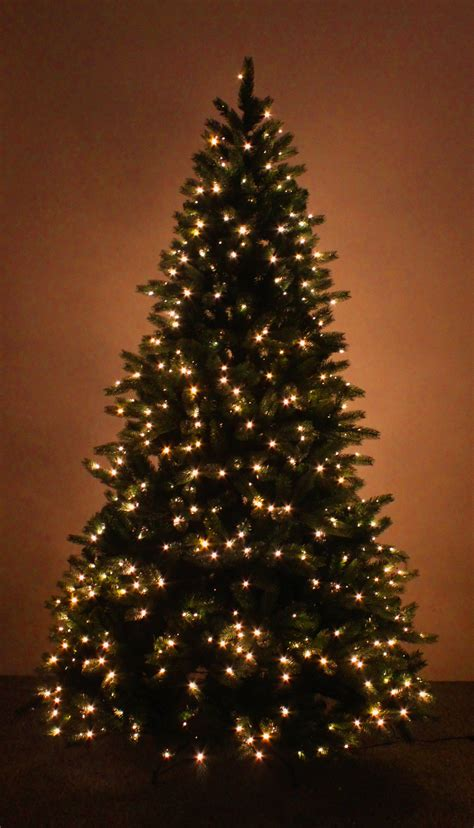 the 12ft ultra devonshire pre lit fir tree with white leds