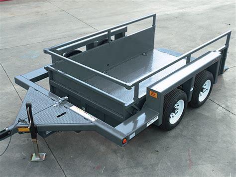 jlg drop deck utility trailer ut612 utility trailer jlg