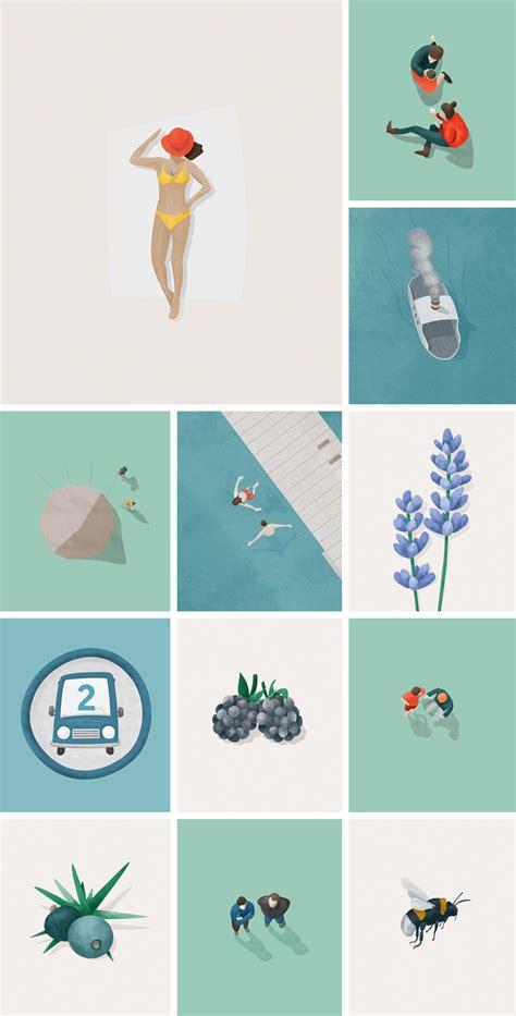 Illustrationer, ikoner og grafik - FRIDAJOHS design studio