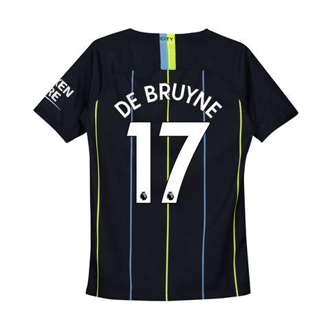Manchester City Away Stadium Shirt 2018-19 - Kids with De ...