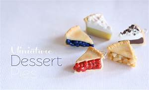 Mini Pies - Polymer Clay Dessert Tutorial - YouTube