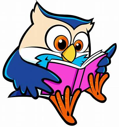 Reading Children Clipart Clip Library Books Owl