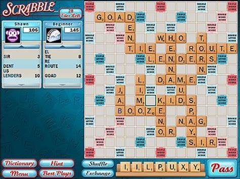 scrabble free looking for good online scrabble game 171 scrabble