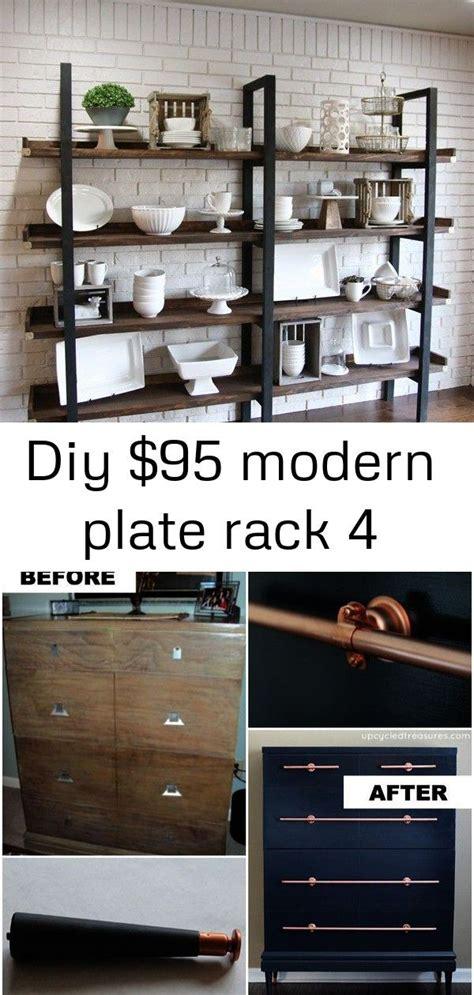 diy plate rack   shanty  chic furniture world