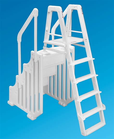 mighty step  safety ladder set  wide
