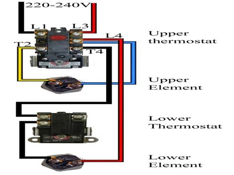 electric water heater wiring diagram   wiring forums