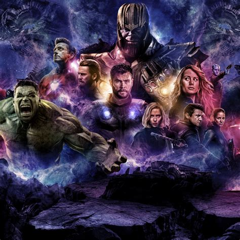 2932x2932 Avengers 4 2019 Movie Poster Ipad Pro Retina