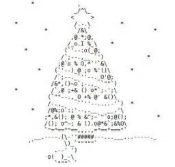 Christmas Tree Ascii Art Facebook by Buon Natale Edizione 2010 Koolinus Il Blog