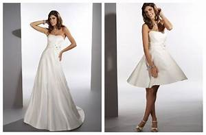 rainingblossoms new arrivals 2 in 1 wedding dresses With 2 in 1 convertible wedding dresses
