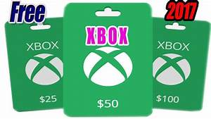 Xbox Live The Newest Free Xbox Gift Card Codes No Survey