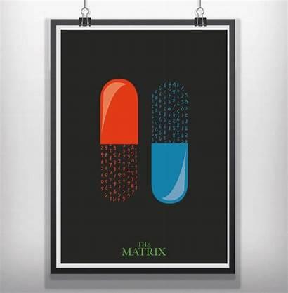 Minimalist Poster Matrix Posters Prints Minimal Film