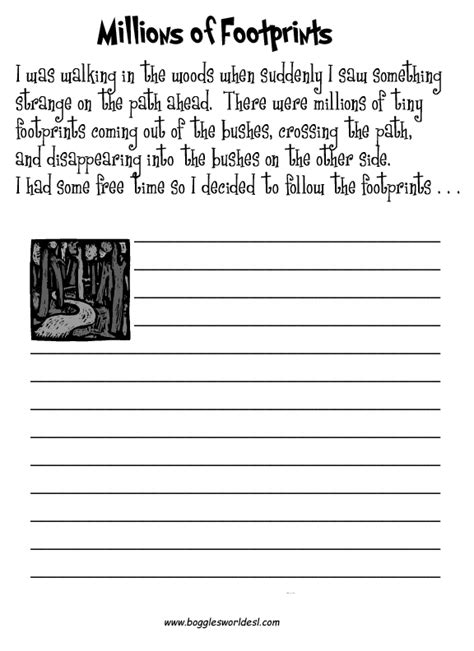 17 best images of middle school writing process worksheets