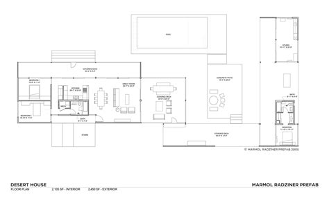 desert house plans desert house by marmol radziner karmatrendz