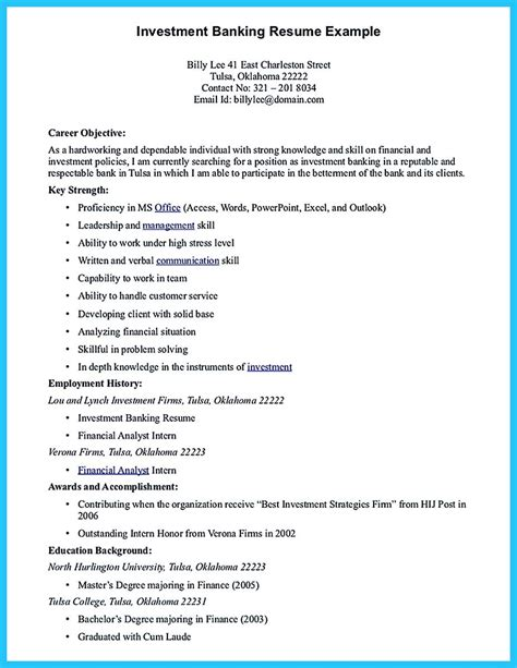 starting successful career   great bank manager resume