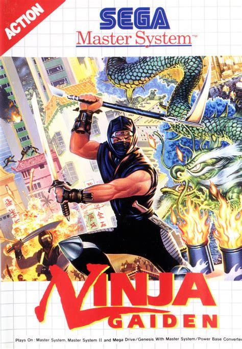 Ninja Gaiden For Sega Master System 1992 Mobygames