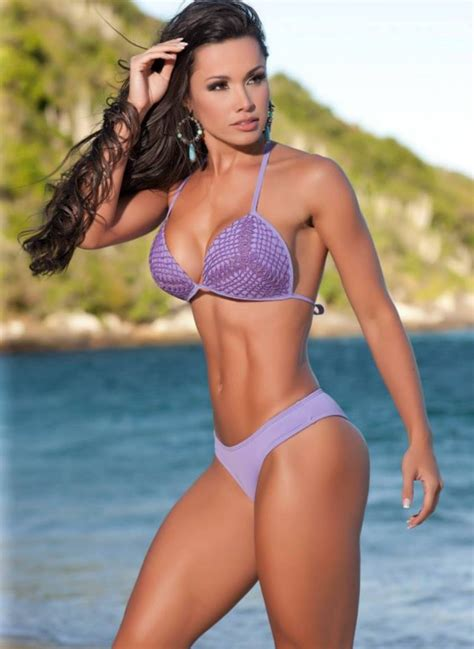 fitness bikini hot sexy perfect 10 muscular dream bikini body of brazilian