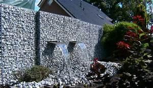 Mur et cloture gabion idees pour le jardin en 31 photos for Deco jardin avec cailloux 9 mur en gabion wikilia fr